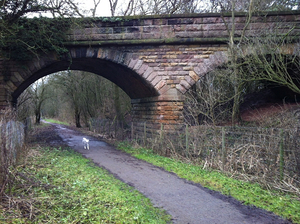 Bridge 15 on the Wetherby to Church Fenton line