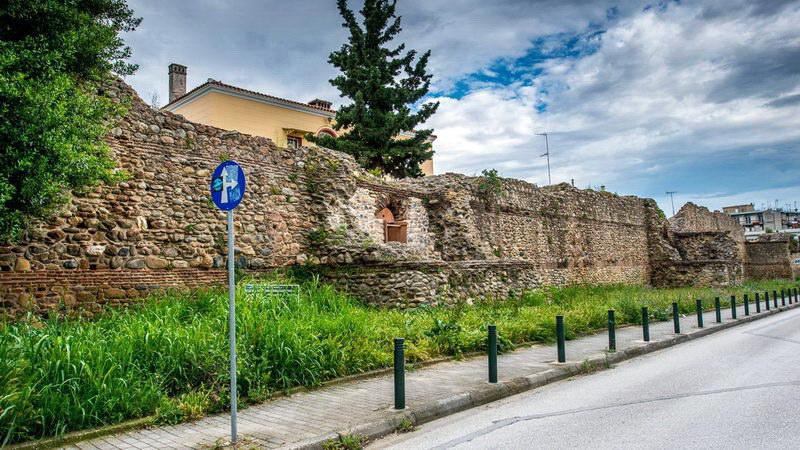 Ανάπλαση της περιοχής του Βυζαντινού τείχους Κομοτηνής