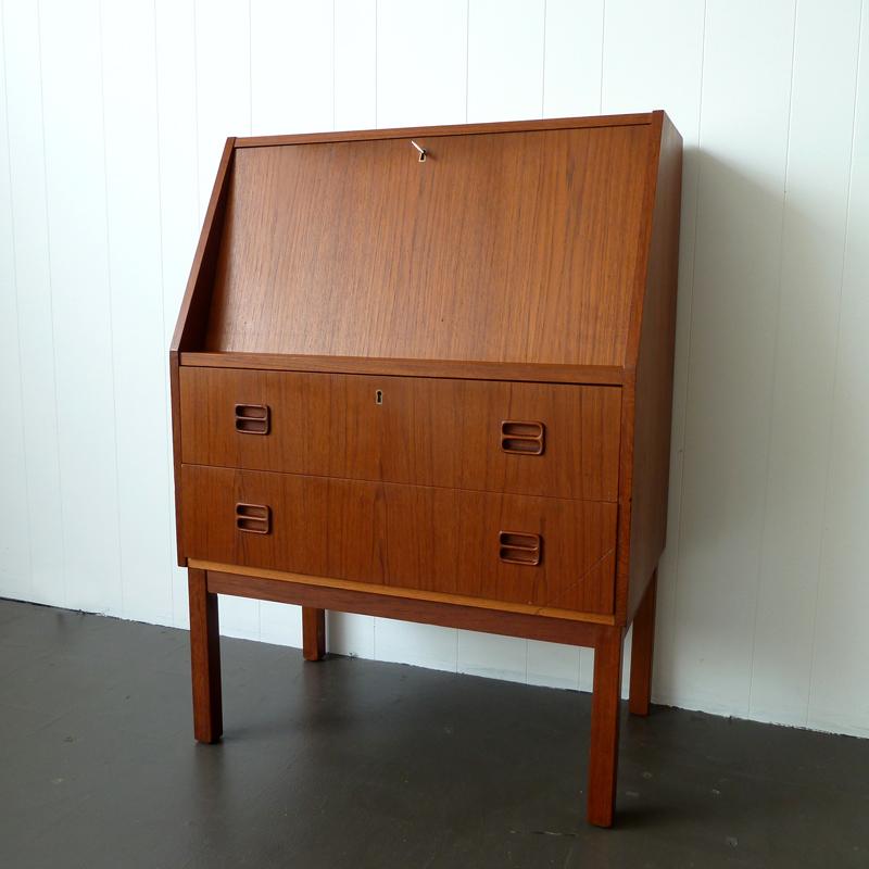 Newfound Studio Exclusive Danish Modern Secretary Desk