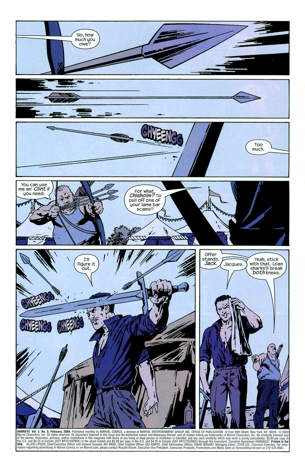 Hawkeye (2003) Issue #3 #3 - English 2