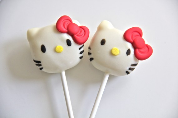 hello kitty cake pops - photo #27