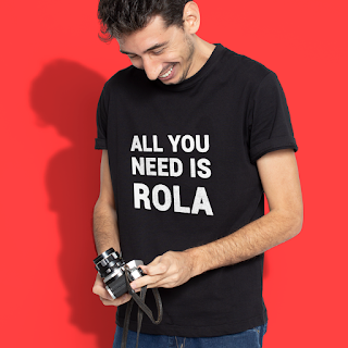 Camiseta All you Need Is Rola