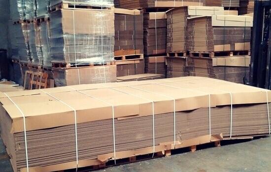planchas de carton a medida