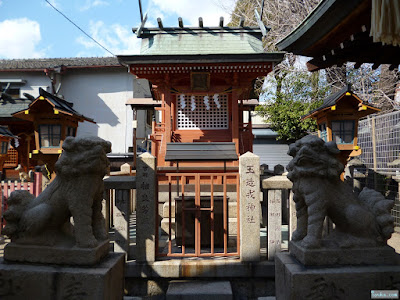 東成区中道の八阪神社玉造戎神社
