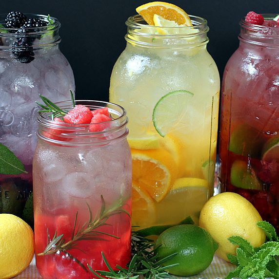 How To Make Naturally Flavored Water Walking On Sunshine