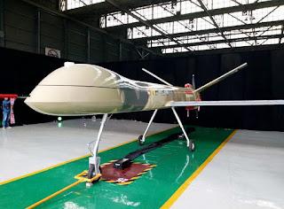 UAV MALE Elang Hitam