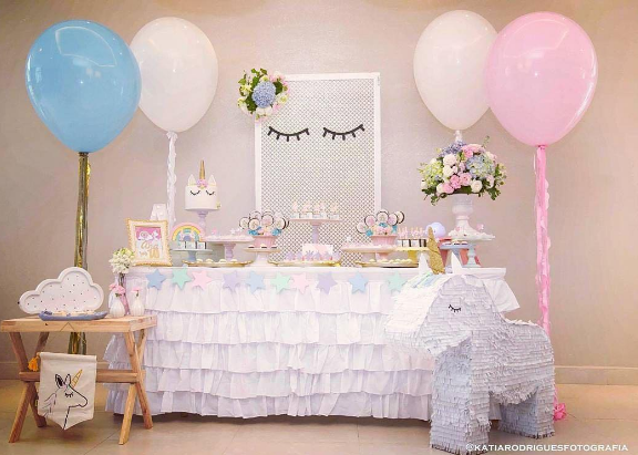 12 Ideas Para Un Baby Shower De Unicornio
