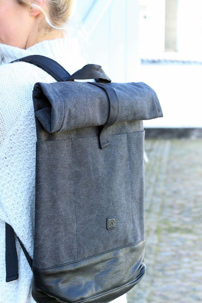 turleneck, midiskirt, ucon acrobatics, styling, rucksack, rucksäcke, rollkrage, oversize