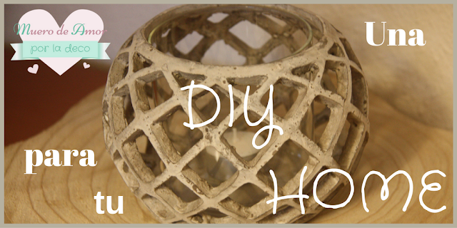 Diy Home: Portavela o Maceta