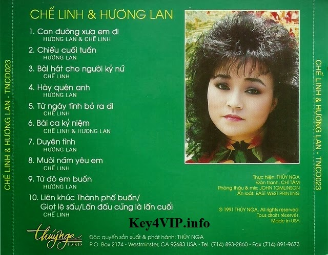 Chế Linh & Hương Lan - Người Xa Người (1991) [FLAC] {TNCD023} Multilink