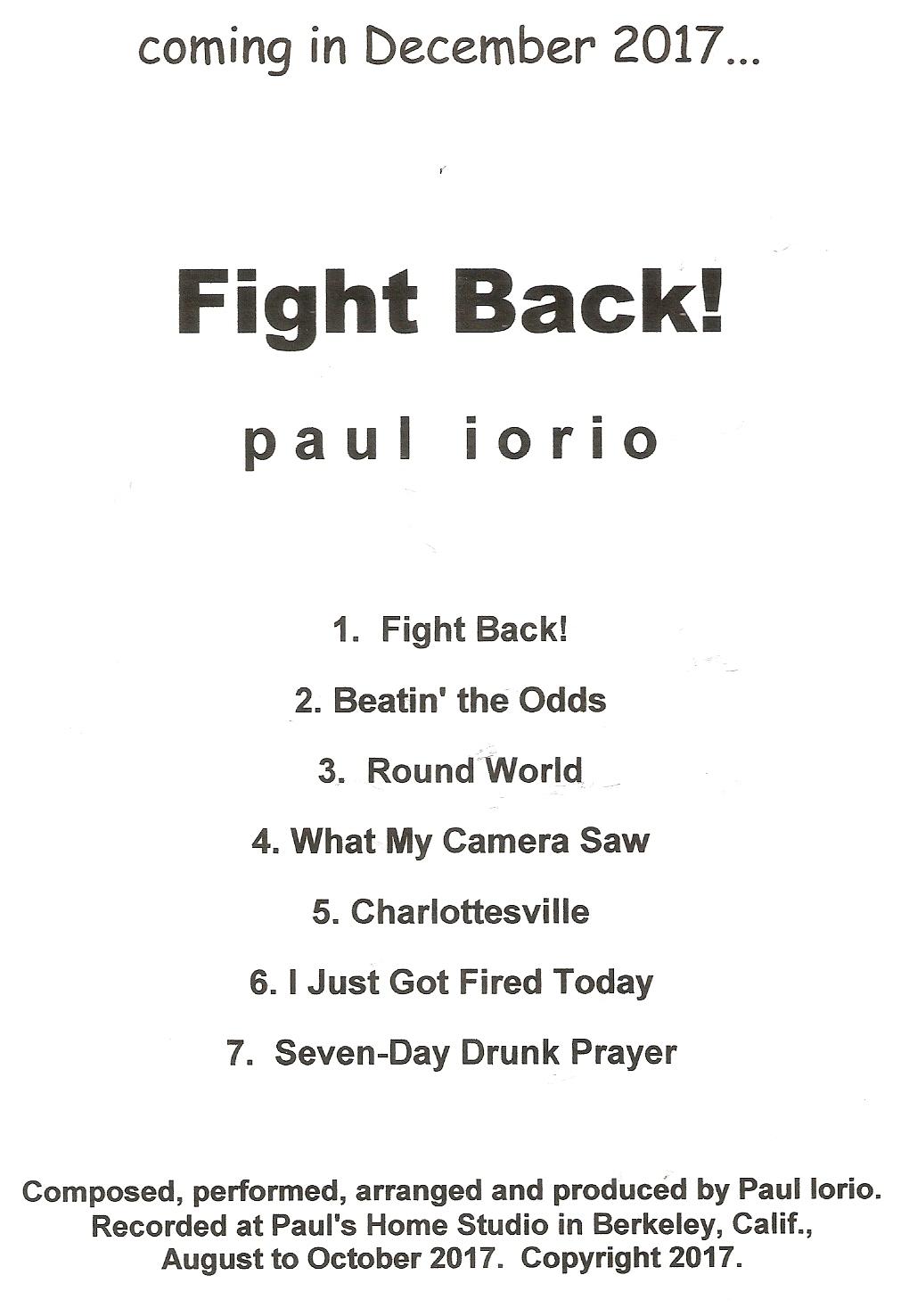 Paul Iorio\'s official music website.