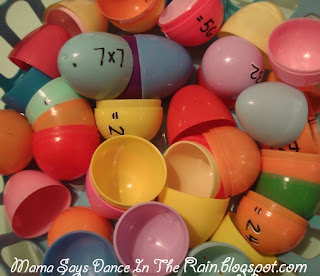 Easter Egg Math, Uses for leftover Easter Eggs