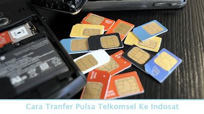 Cara Tranfer Pulsa Telkomsel Ke Indosat (Termudah.com)