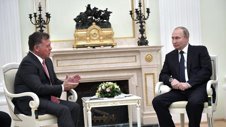 بوتين-والملك-عبد-الله-الثاني-يبحثان-هاتفيا-تطورات-القضية-الفلسطينية