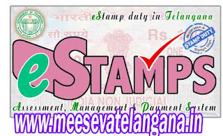 Telangana TS Land Registration Online Application E Challan Slot Booking
