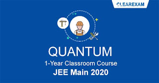 JEE Main Classroom Course - One Year QUANTUM
