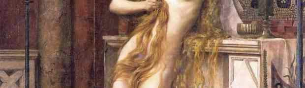 Charles William Mitchell - The Death of Hypatia, 1885 (detail)