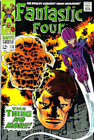 Fantastic Four v1 #78 marvel 1960s silver age comic book cover art by Jack Kirby