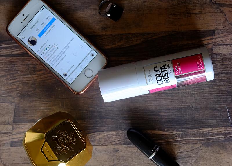 Le Spray Colorista Hot Pink Hair