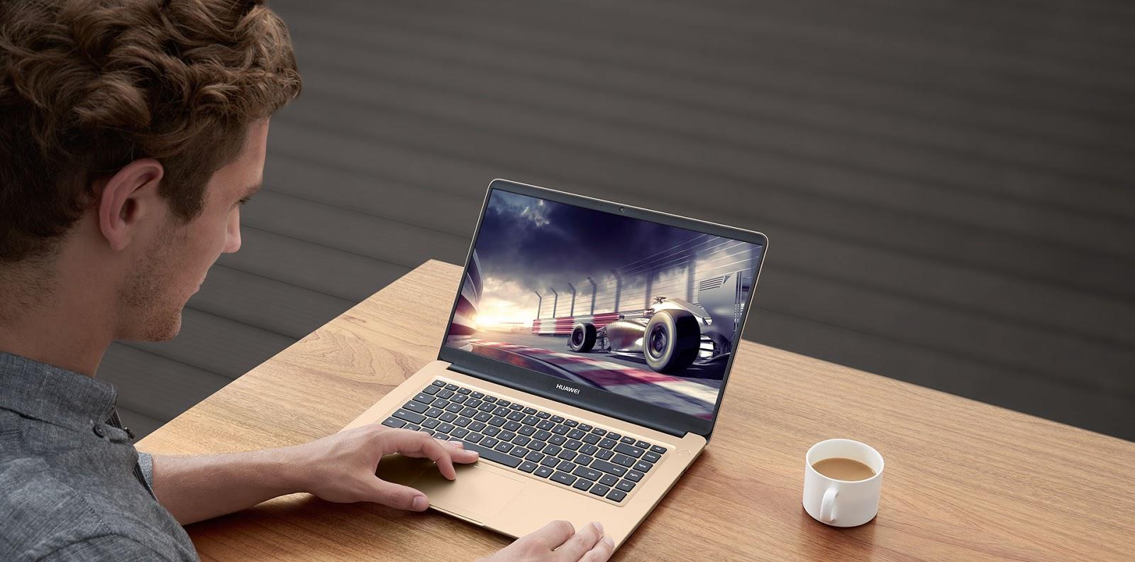 Huawei MateBook D Games Berat Lancar
