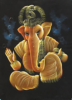 contemporary ganesha paintings collection
