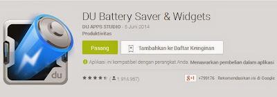 Download Aplikasi Terbaik Android Untuk Menghemat Baterai