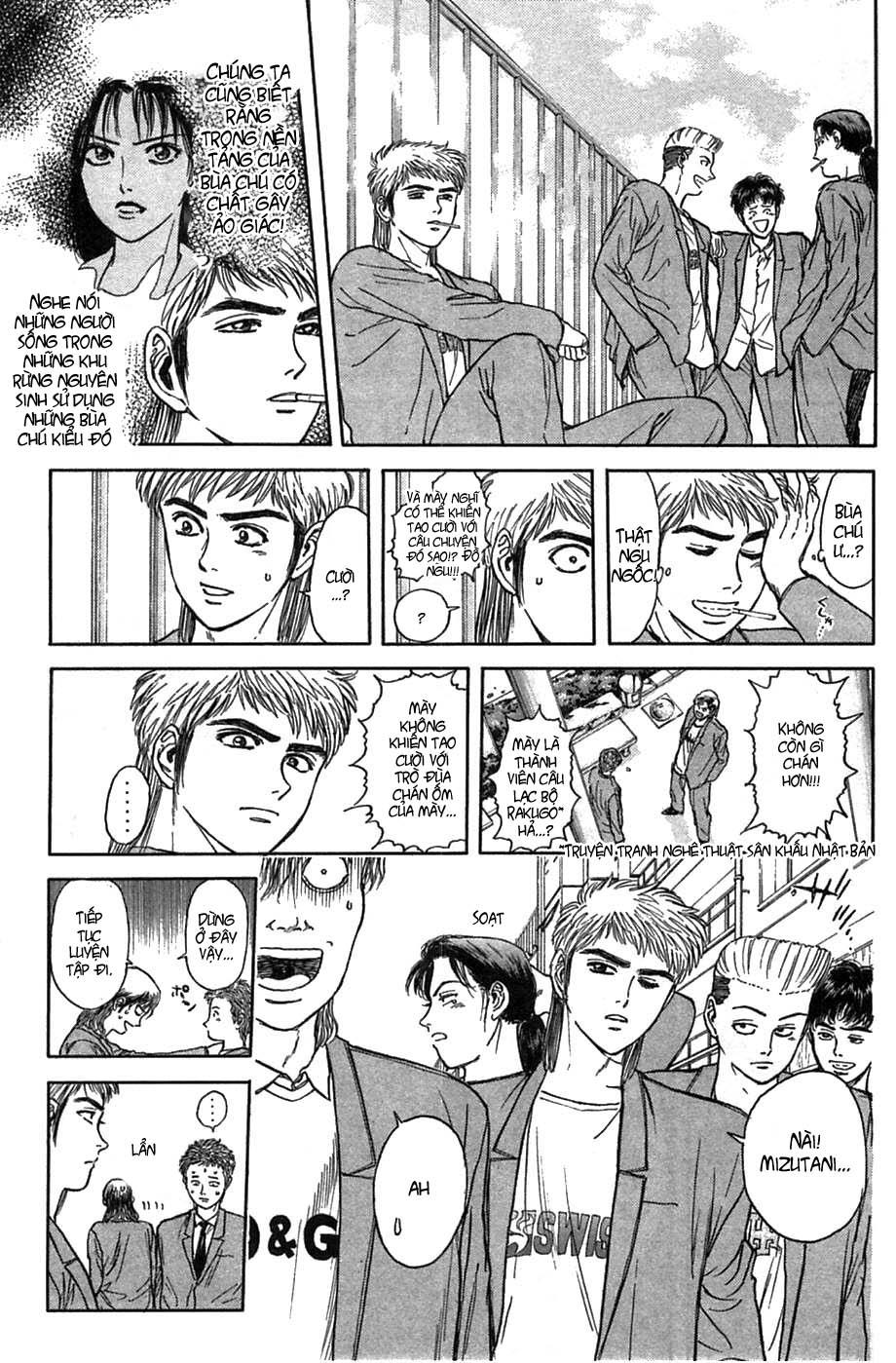 Psychometrer Eiji chapter 38 trang 18