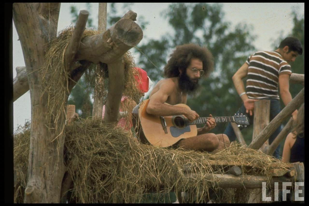 Nudist Woodstock Concert Photos