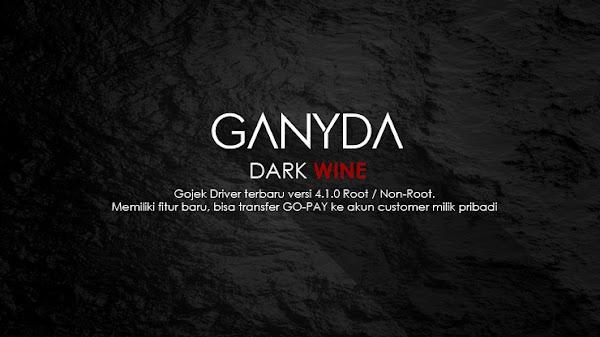 Share Ganyda Dark Wine - Gojek Driver Terbaru Versi 4.1.0 Untuk HP Root dan Non-Root