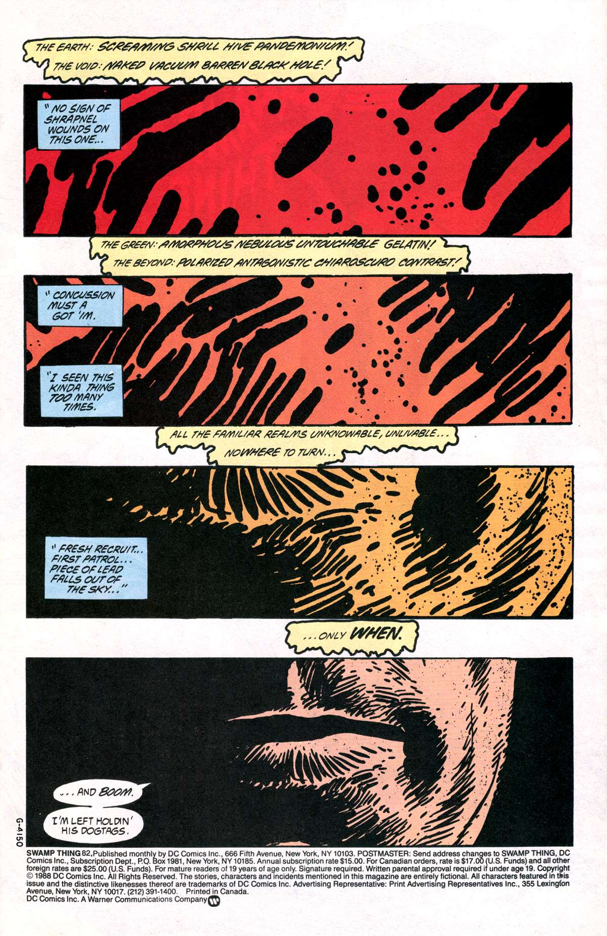Swamp Thing (1982) Issue #82 #90 - English 3