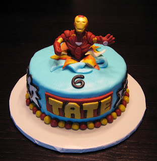 Iron Birthday Cake