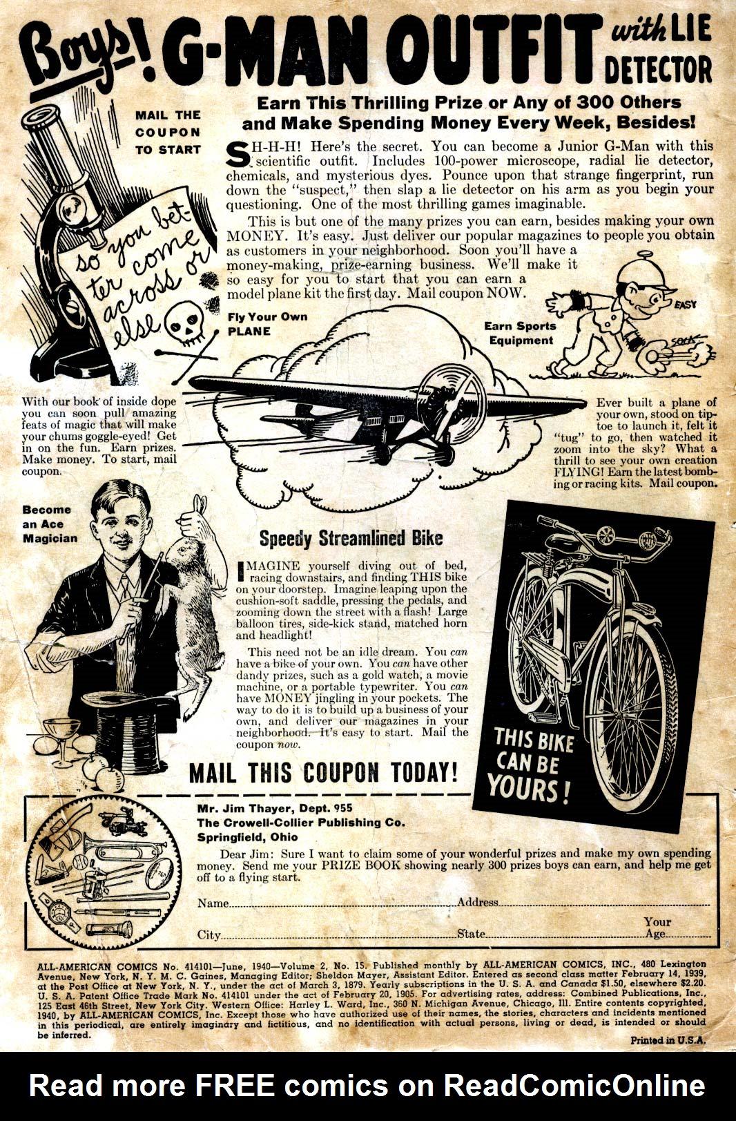 Read online All-American Comics (1939) comic -  Issue #15 - 2