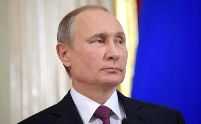 Russian President. Vladimir Putin.