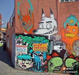 mural street art méxico