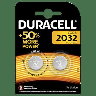 batterie 2032 2pz +50%