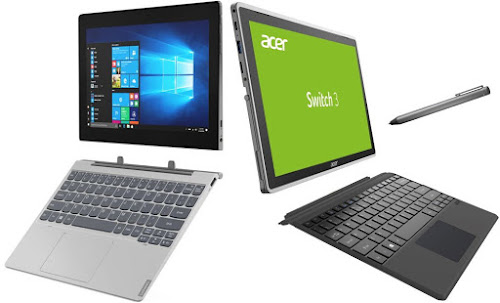 Comparativa 2 en 1 Windows menos 400 euros