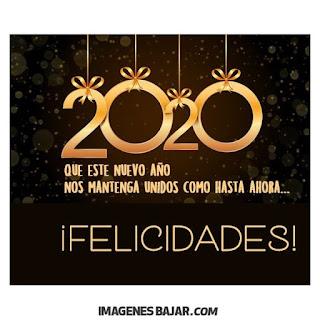 Deseos para Año Nuevo 2020 Imágenes de Felices Fiestas. Tarjetas para enviar por WhatsApp felicidades