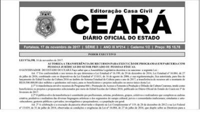 Publicadas no DOE as mudanças para aposentadoria dos servidores estaduais do Ceará
