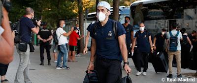 El Real Madrid ya está en Valencia