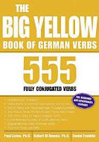 نتيجة بحث الصور عن The Big Yellow Book of German Verbs كتاب تصريف الأفعال الألمانية - تعلم الألمانية