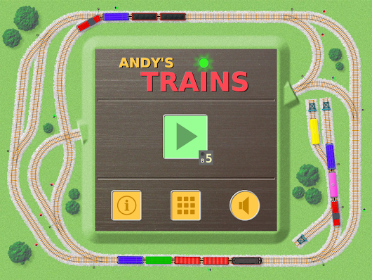 Review: Andy's Trains for iPad