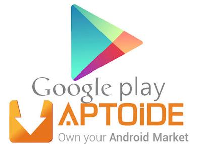 Aptoide - best alternative to google play store