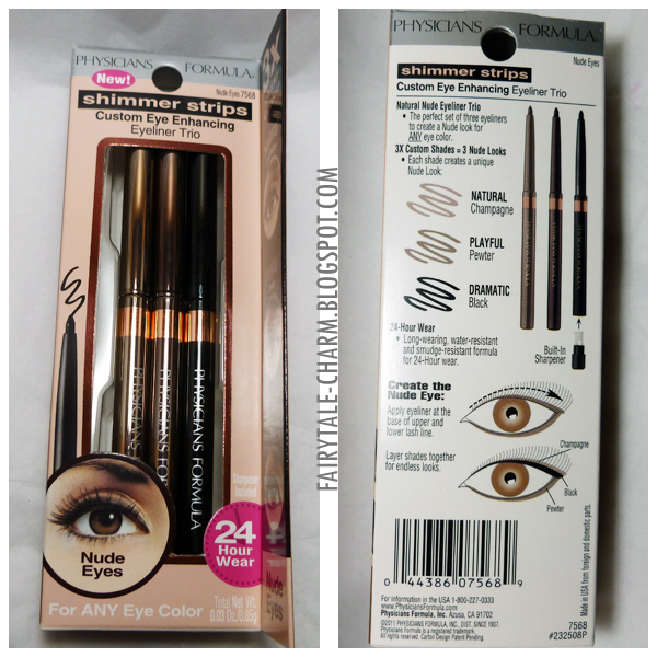 Physicians formula shimmer strips eyeliner trio review