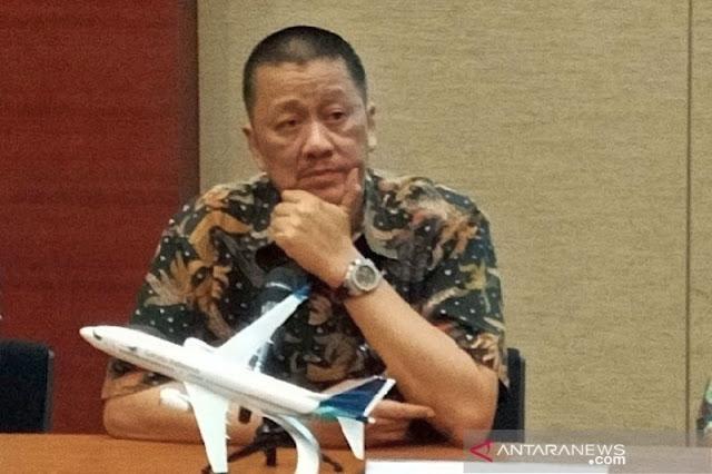 Dirut Garuda Ungkapkan Sinyal Kebangkrutan Maskapai Nasional