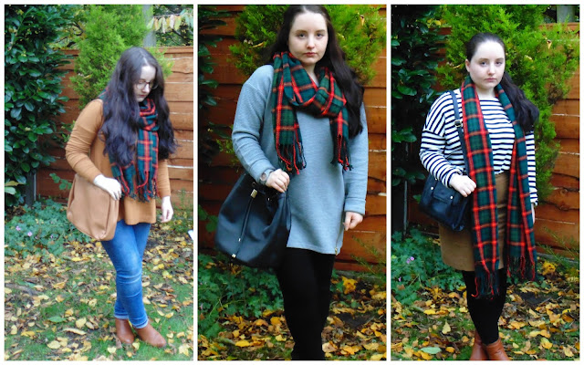 One Scarf 3 Ways Ft. Cherry Diva