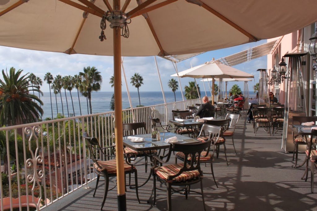 La Valencia S Outdoor Restaurant Has The Best View In Town