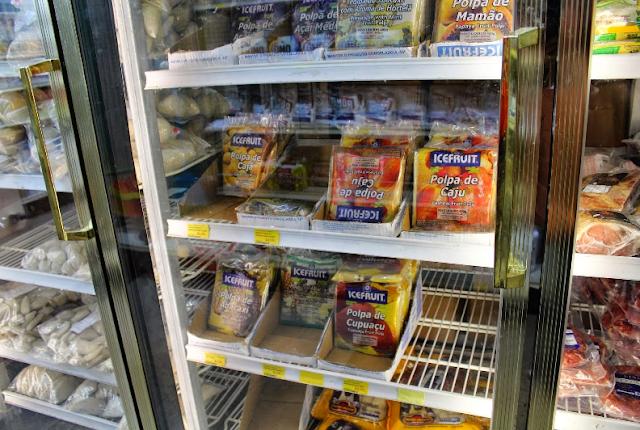 Produtos do Supermercado Brasileiro em Orlando