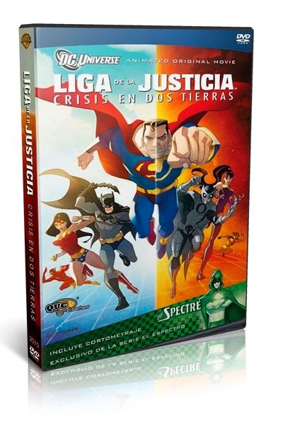 Liga de la Justicia Crisis en las dos Tierras DVDR NTSC Latino
