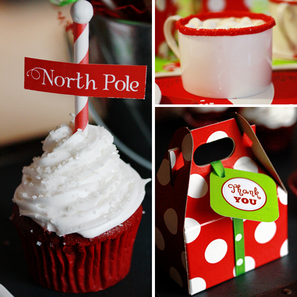 Christmas Party Themes: Kara's Party Ideas Holly Jolly Christmas Party