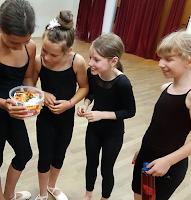 Belohnung für die Tänzerinnen der Tanzschule XTRA DANCE